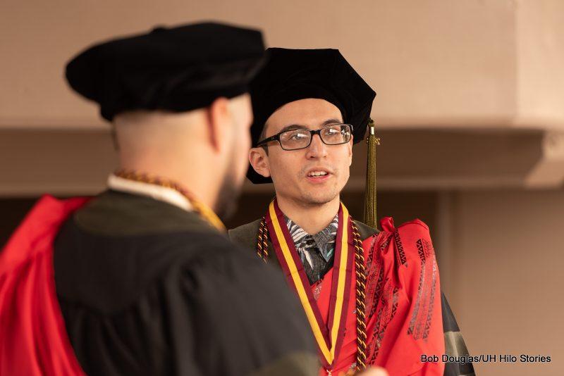 Graduates in regalia.