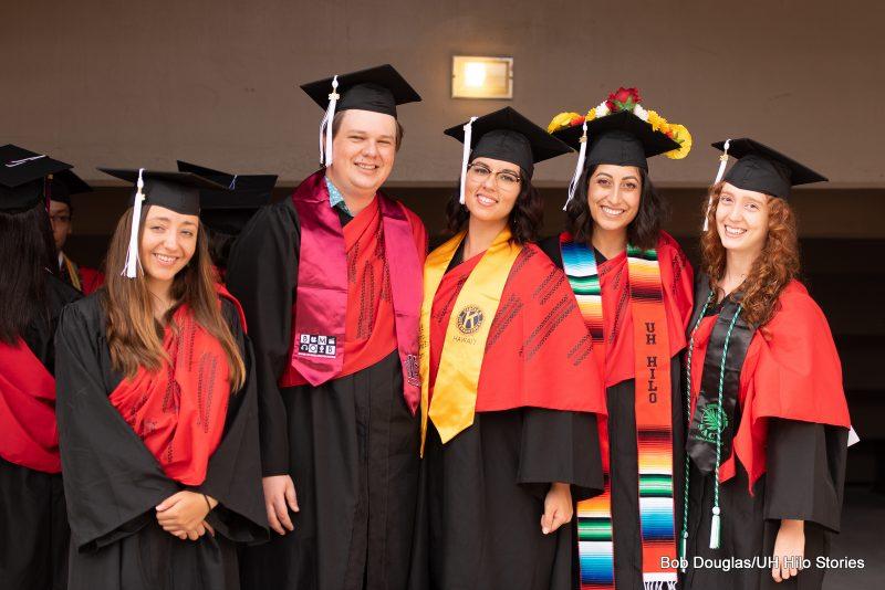 Group of Graduates in regalia.