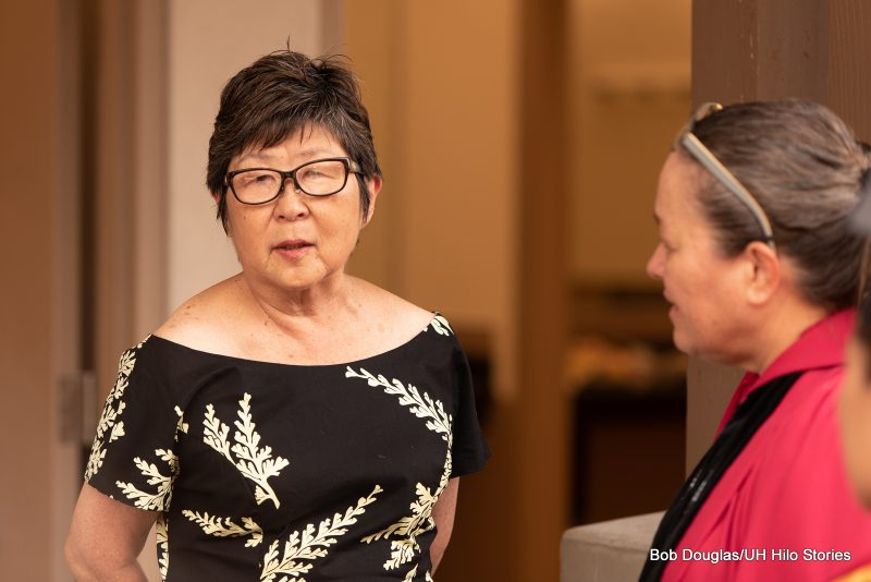 Interim Chancellor Marcia Sakai.