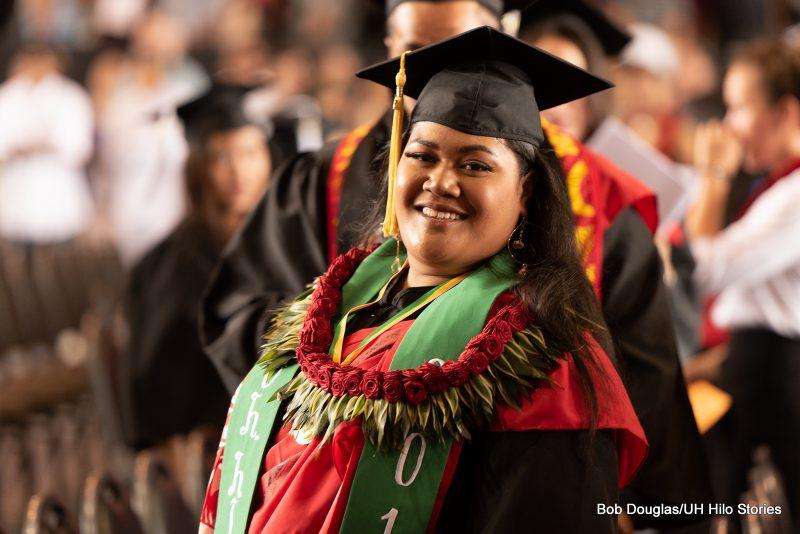 Graduates entering venue.