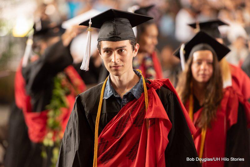 Graduates enter venue.