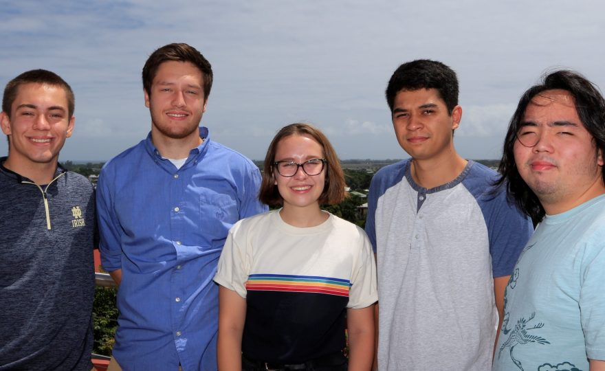 UH Hilo physics and astronomy students show their star power