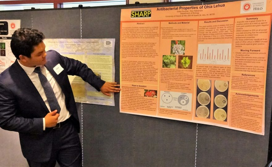 UH Hilo students in advanced research program present their findings at symposium