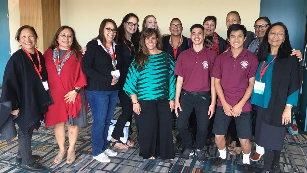 UH delegation attends National Indian Education Association annual convention in Hartford, CT