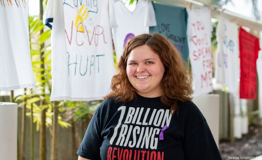 PHOTOS: UH Hilo Women's Center hosts annual Clothesline Project in support of domestic violence victims