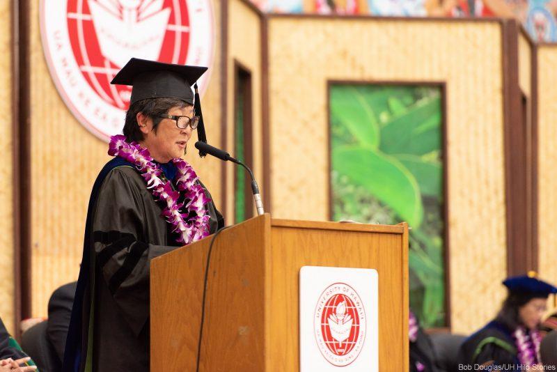 Interim Chancellor Marcia Sakai