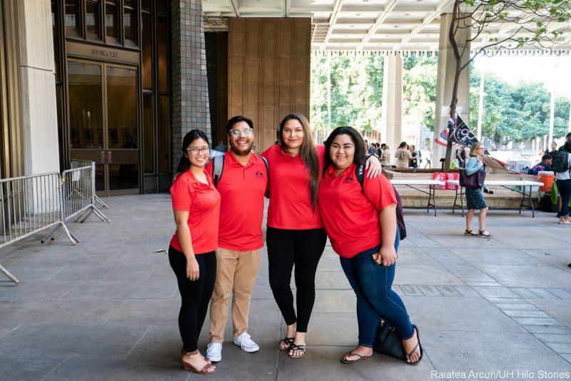 Angela Ituriaga, Caesar Mendoza, Victoria Taomia, Lottie Haleck