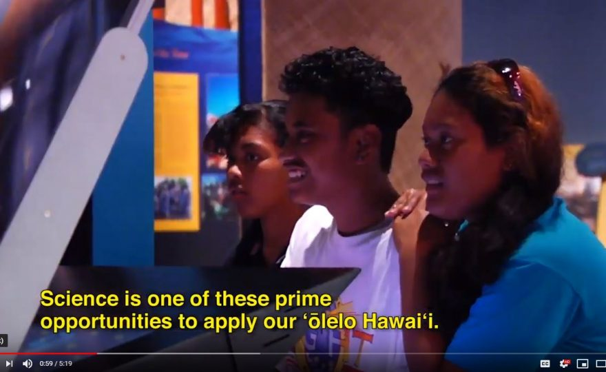 Hawaiian students name two asteroids through ʻōlelo Hawaiʻi program at UH Hilo astronomy center