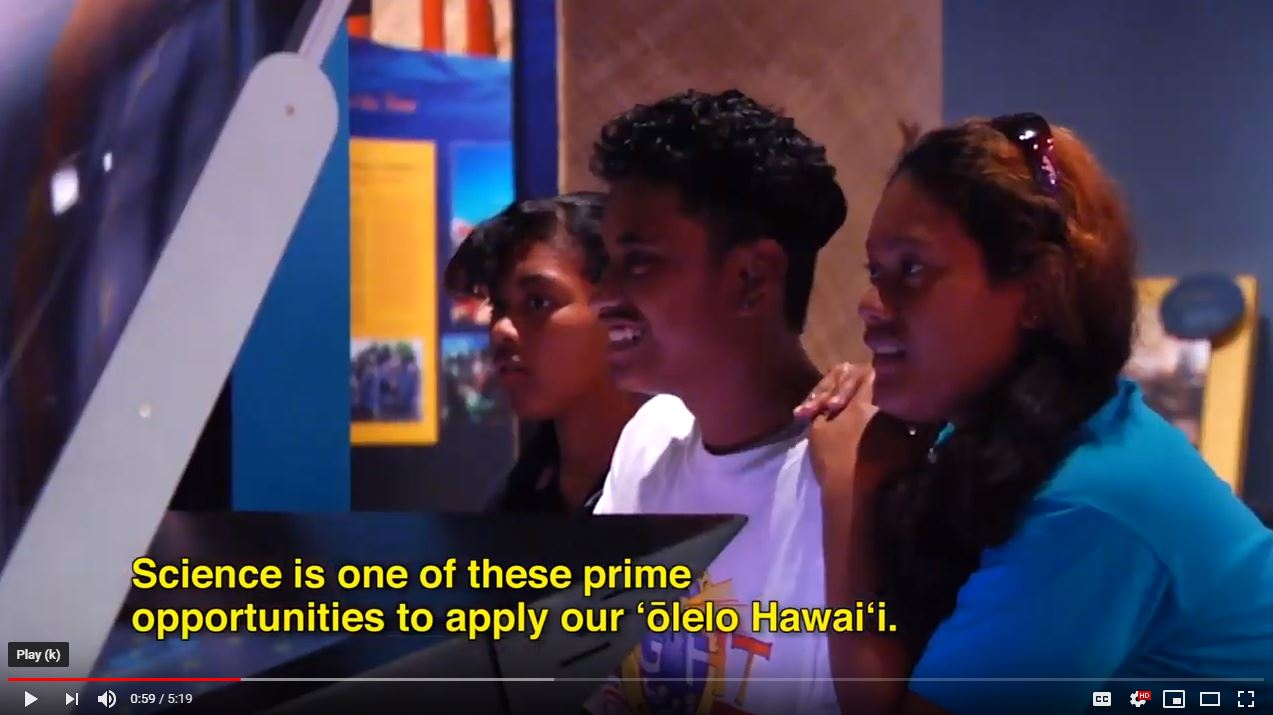 Hawaiian students name two asteroids through ʻōlelo Hawaiʻi program at UH Hilo astronomy center - UH Hilo Stories