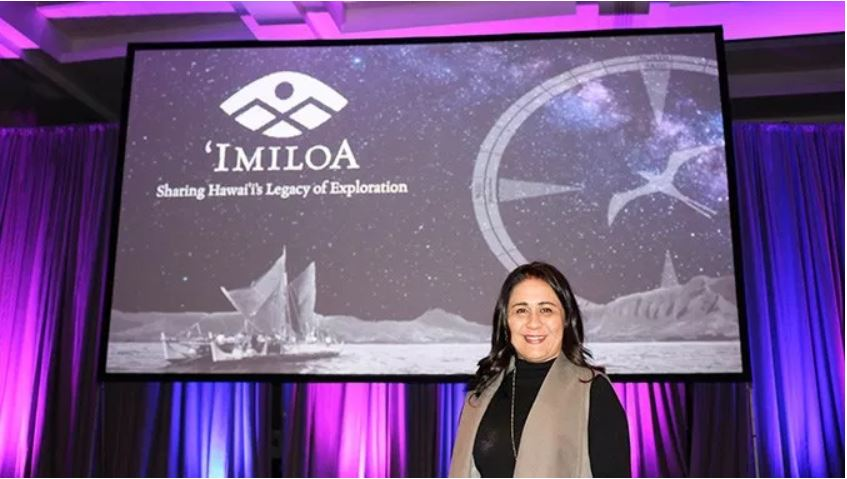 ʻImiloa executive director Kaʻiu Kimura keynotes national astronomy conference, speaks about UH Hilo ʻolelo Hawaiʻi program to name celestial bodies