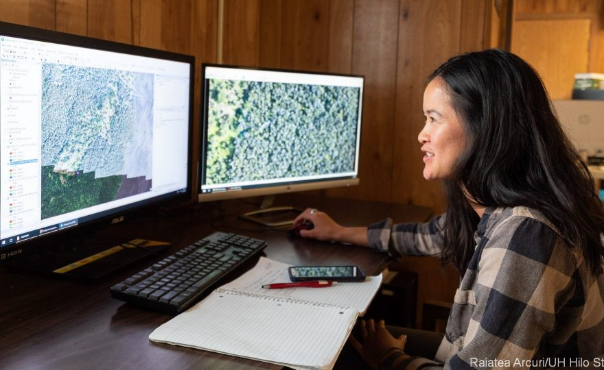 UH Hilo students apply cutting-edge data visualization techniques to real-world scientific data