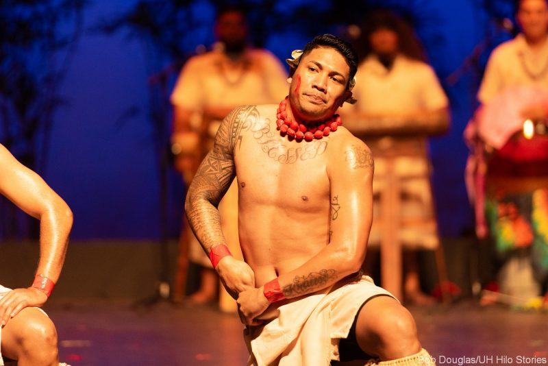 Samoan group dancing.