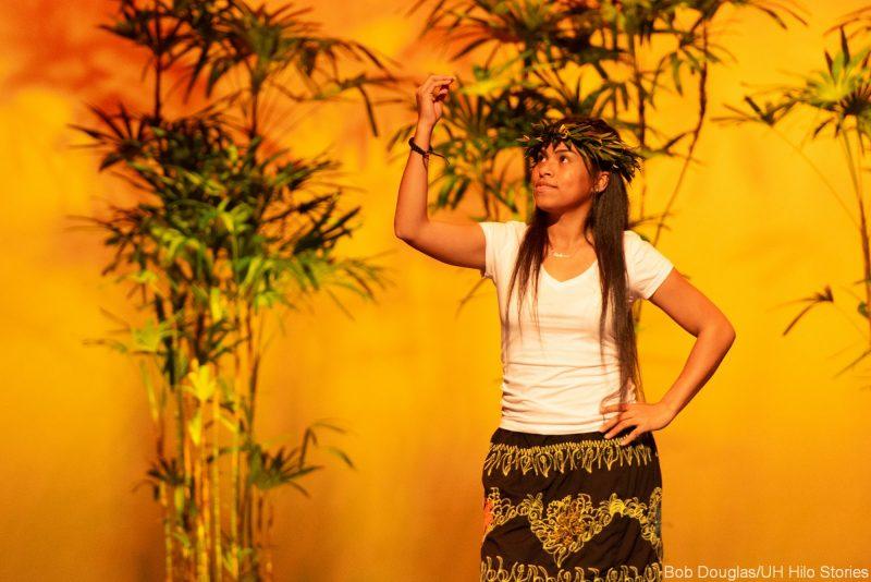 Kosrae women dancers.