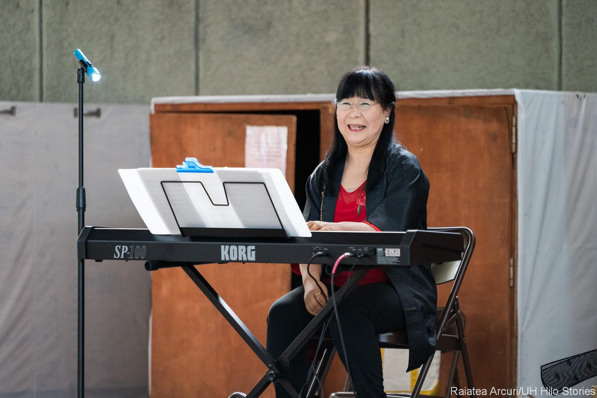 Natsuko Uchida on keyboard.