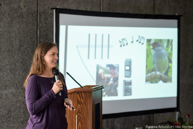 Erin Netoskie speaks to group.