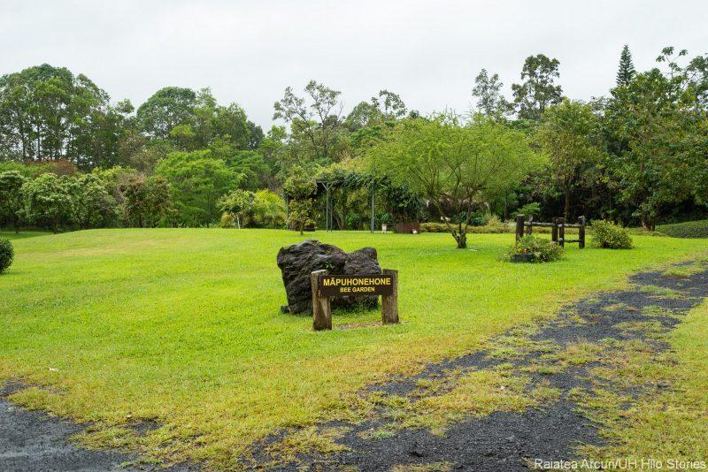 Mapuhonehone Bee Garden sign.