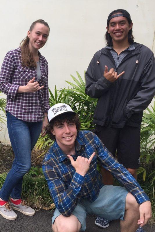 Malia Bryman, Maximilian Abraham and Cody Pacheco