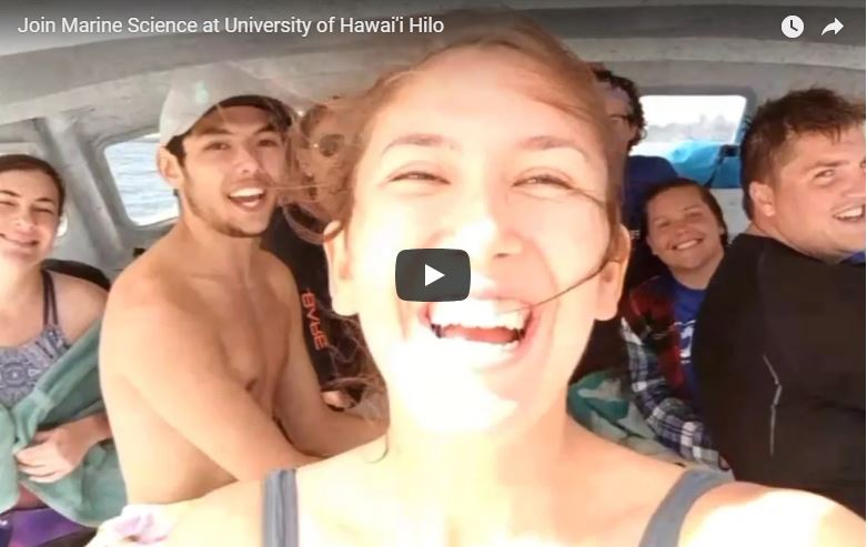 UH Hilo students bring home major awards from UH System marine symposium