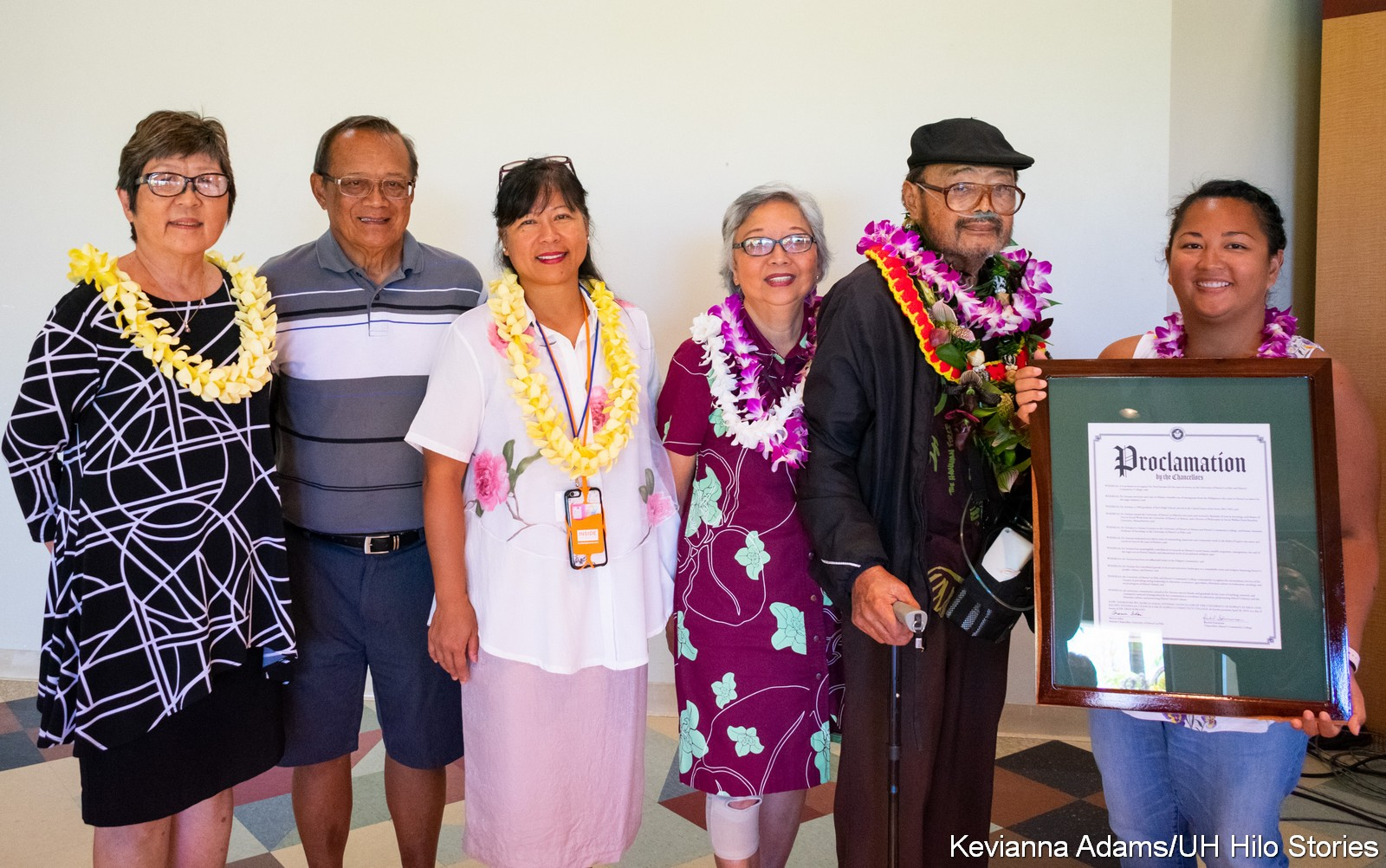 Artist and educator Fred Soriano honored for his contributions to UH Hilo, Hawai'i Community College, and Hawai'i Island communities