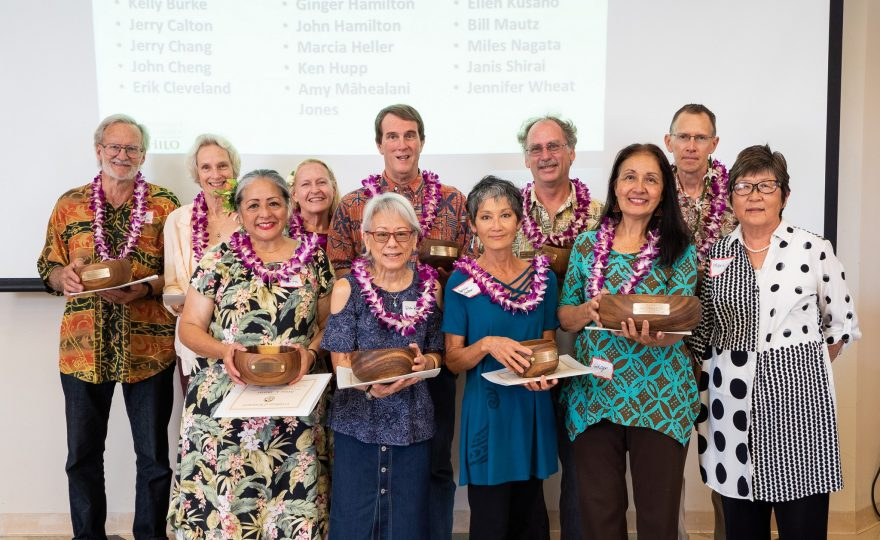 PHOTOS: UH Hilo retirees and longtime employees honored at 2019 recognition event