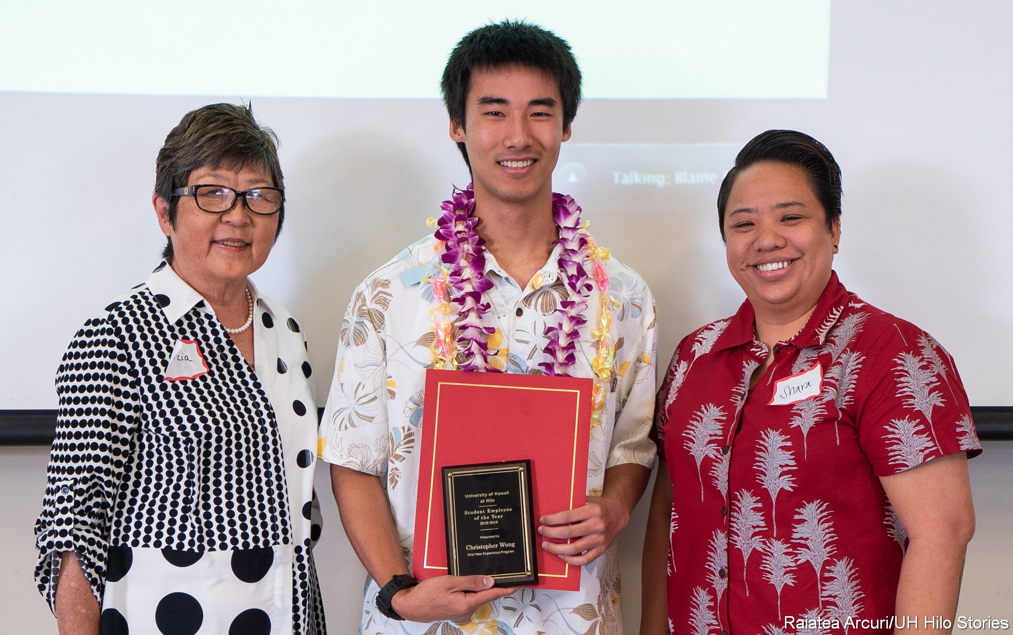 PHOTOS: 2019 UH Hilo Campus Awards honor top faculty, staff, and student employee