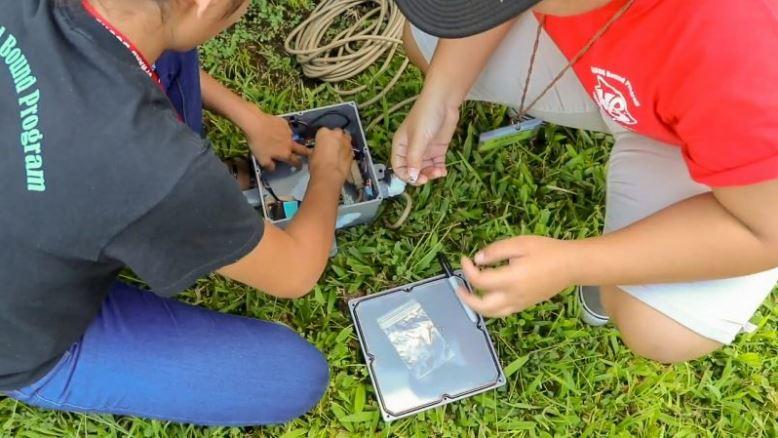 UH Hilo Upward Bound students used their STEM skills to monitor 2018 Kīlauea eruption