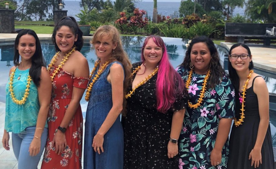 Six UH Hilo students receive scholarships from the American Association of University Women Hilo Branch