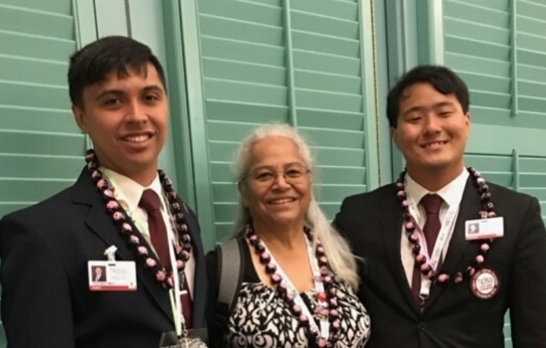 UH Hilo students receive top honors at international leadership conference