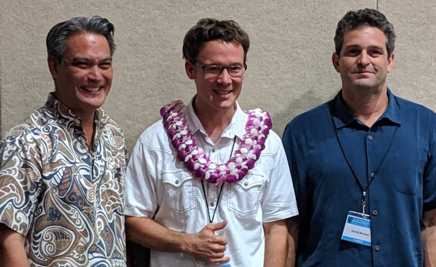 UH Hilo geographer Ryan Perroy wins $70k prize for his innovative drone use in Rapid 'Ōhi'a Death research