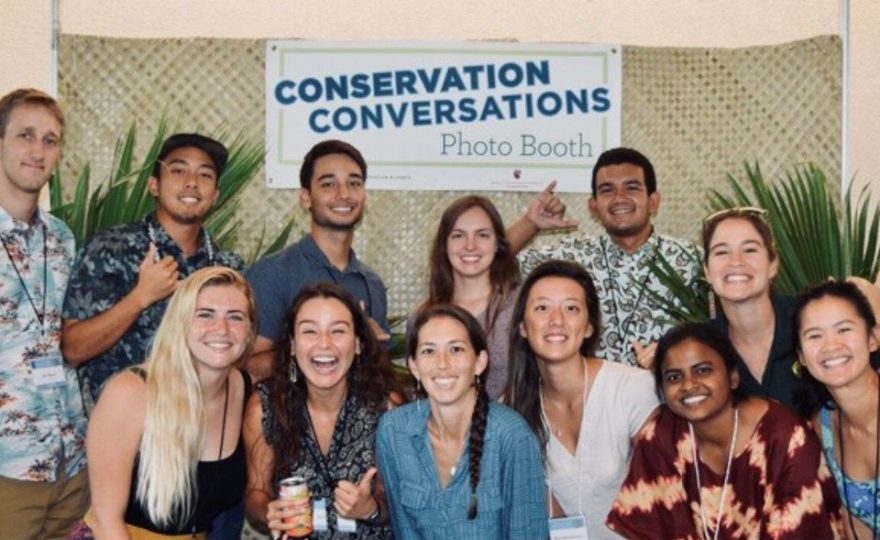 Students and faculty from UH Hilo present their research at statewide conservation conference; two students bring home awards