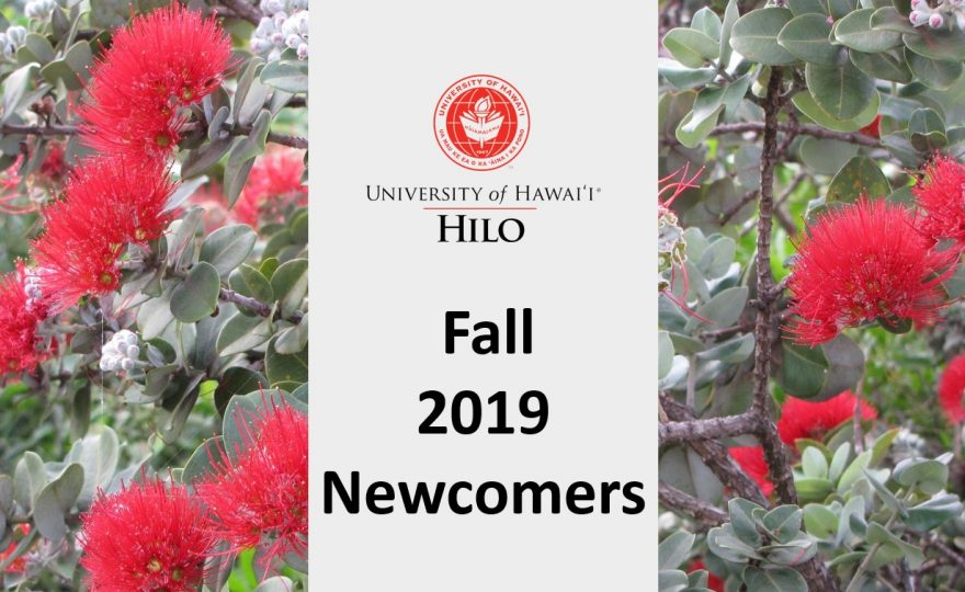 New UH Hilo faculty, staff and administrator list for fall 2019