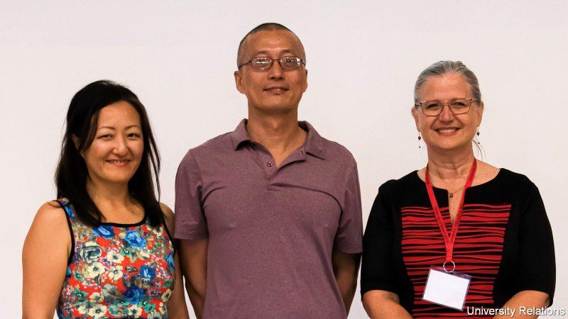 Su-Mi Lee, Li Tao, and Bonnie Irwin.