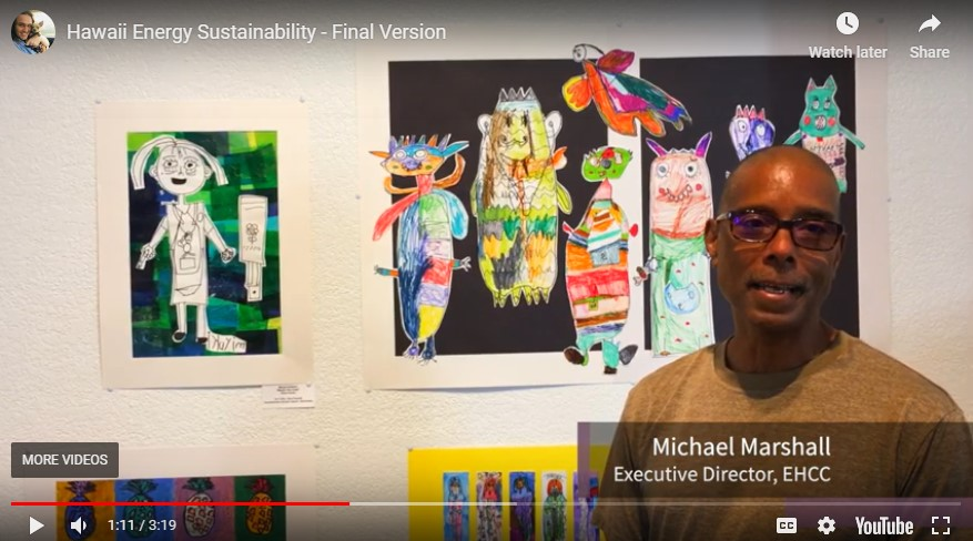 UH Hilo students create videos and art highlighting clean energy