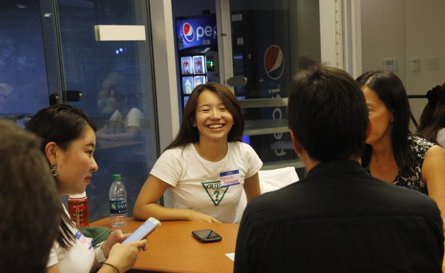 New UH Hilo international students meet their host families