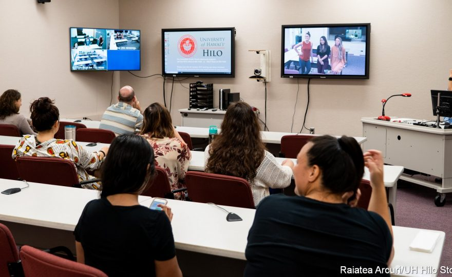 UH Hilo's graduate program in counseling psychology is now accessible to off-island students via distance learning technology