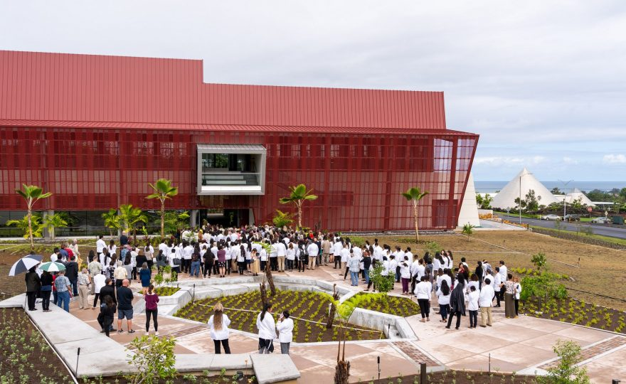 Sen. Daniel K. Inouye's vision comes to life: UH Hilo's new College of Pharmacy building dedicated