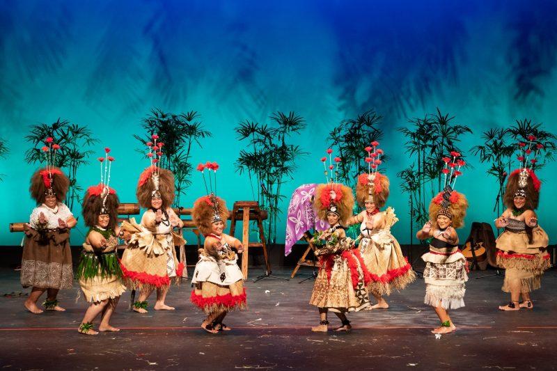 Women dancers in traditional attire.