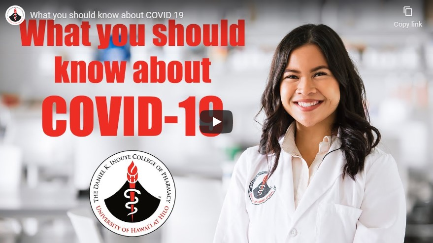 Still from the video title: What You Should Know About COVID-19