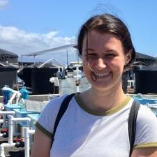 Clara Whetstone with marina background.