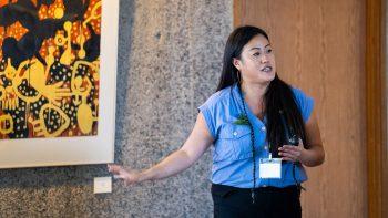 Helen Tien speaking.