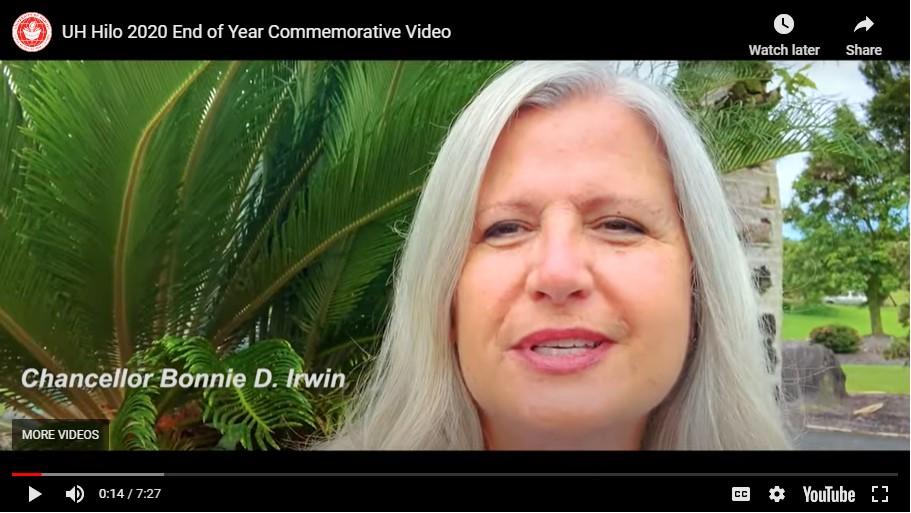 Video still of Bonnie Irwin