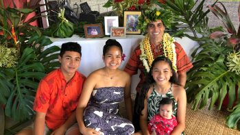 Kekoa and family.