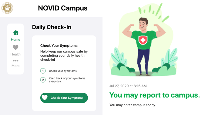 UH develops app for daily health check-in - UH Hilo Stories