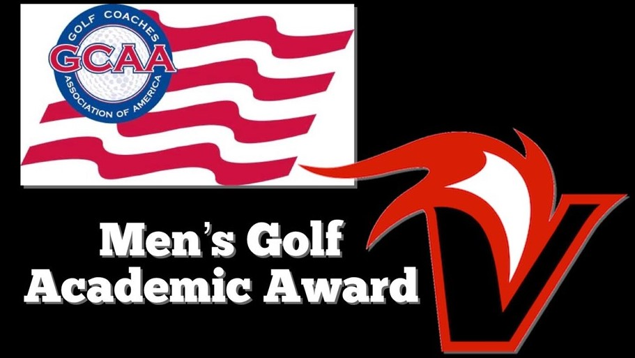 Vulcan logo and words: Men's Golf Academic Award