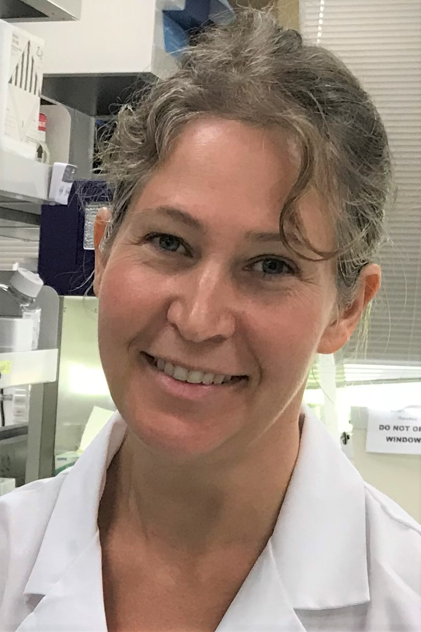 M. Renee Bellinger in lab