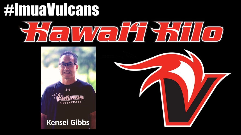 Kensei Gibbs with words: #ImuaVulcans and Hawaii Hilo.