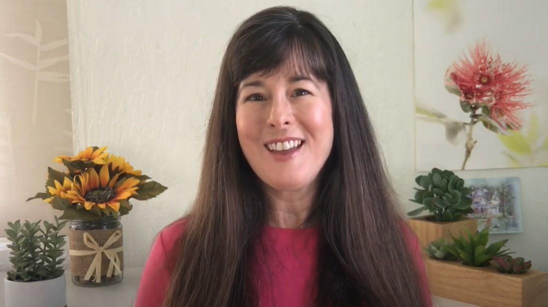 Screenshot of Amy Horst