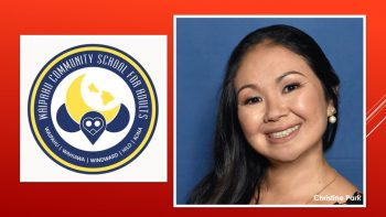 Christine Park and logo from Waipahu
