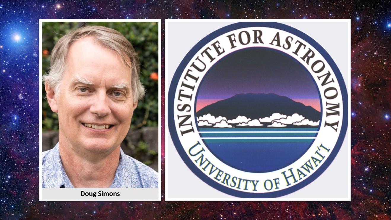 Doug Simons and Logo for IfA
