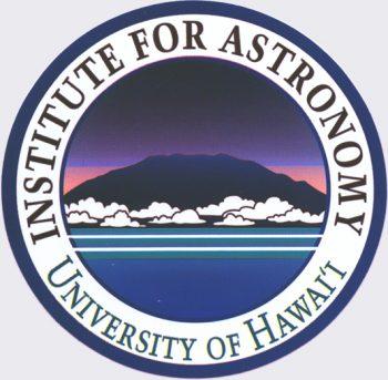 IfA logo with dark Maunakea.